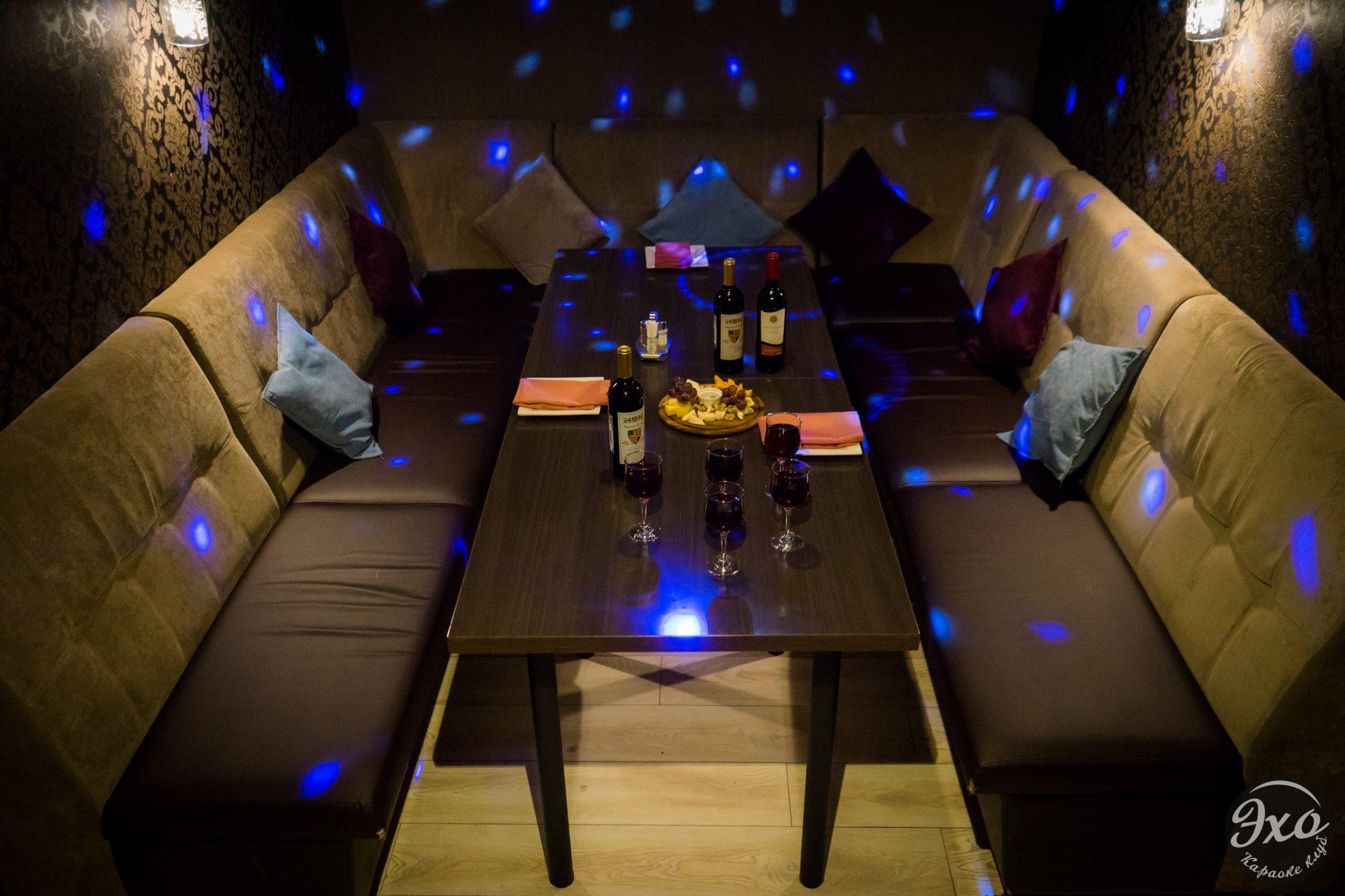 Караоке-бар с отдельными комнатами «Эхо»